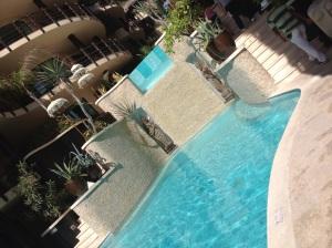 lovely main pool