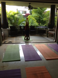 our private yoga studio