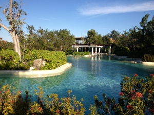 Lovely pool at the Banyon Tree