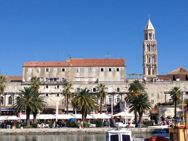 view of old town split
