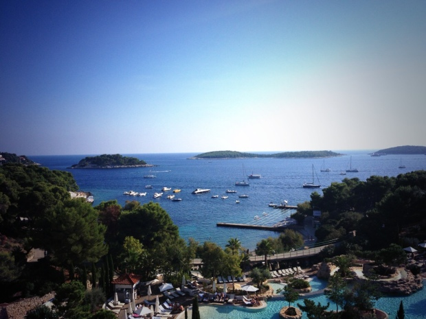 A perfect view in Hvar!