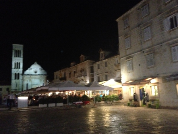 hvar at night
