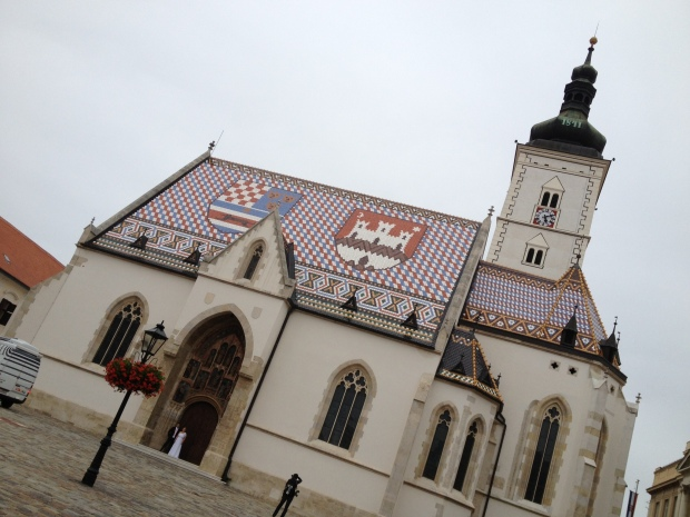 St. Marks Cathedral Zagreb