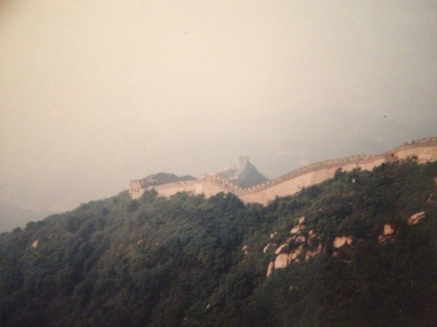 Epic Pic of the Great Wall Snapped by my dad in the 1980's