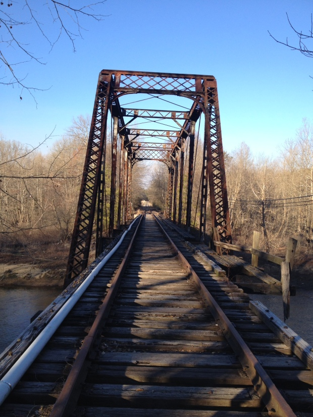 Old rail bridge in Murphy