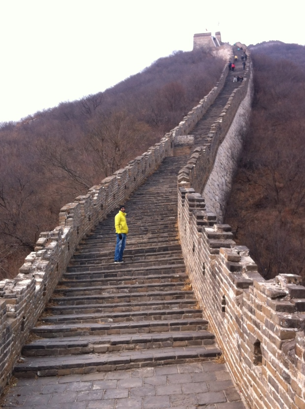 stairs on the great wall