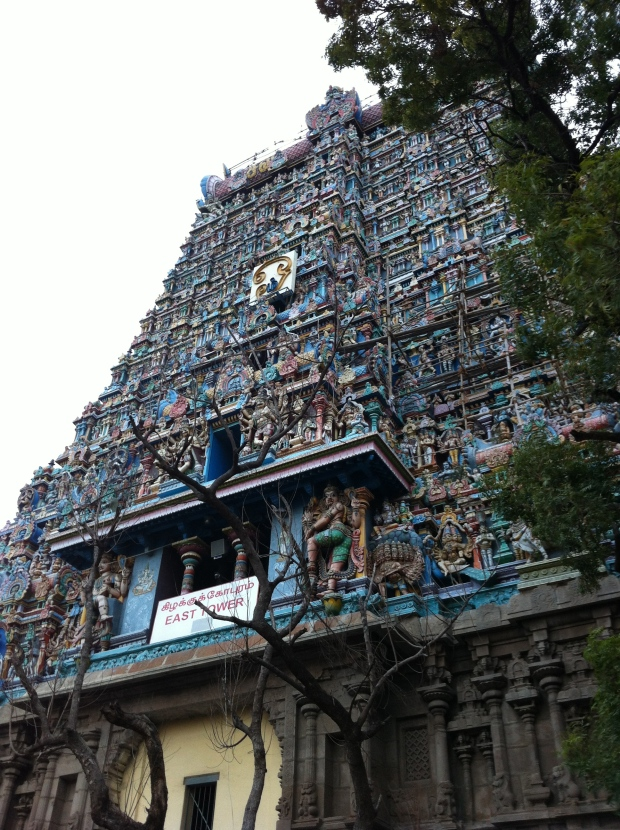 Meenakshi Temple in Madurai