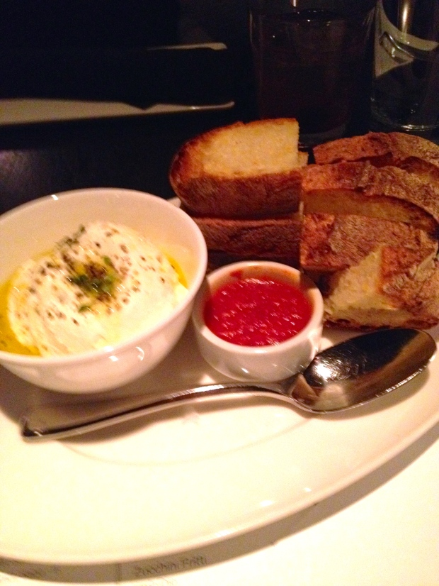 delicious ricotta at RPM Italian