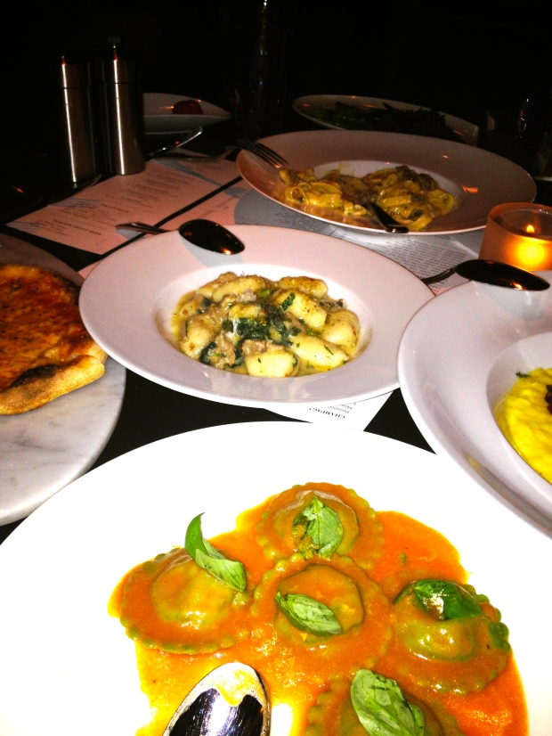 pastas galore at RPM Italian