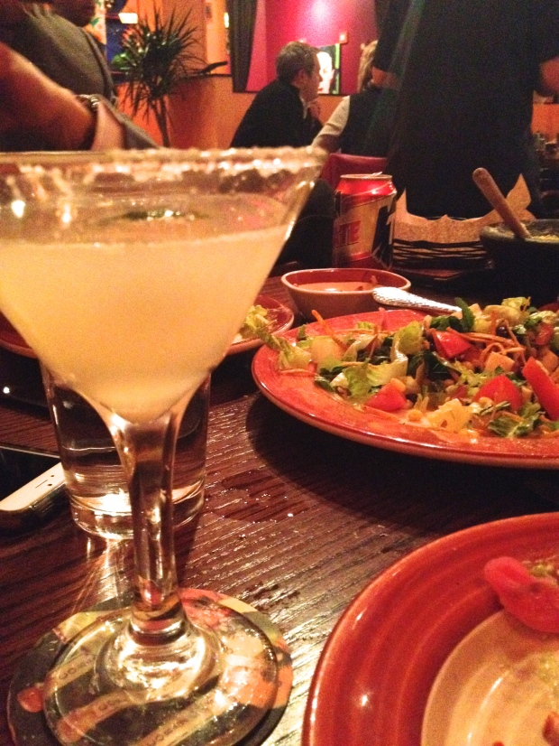 spicey margarita at Adobo Grill