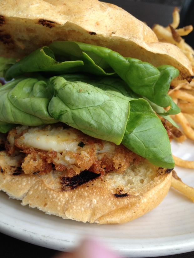 Dungeness Crabcake Sammie at Etta's