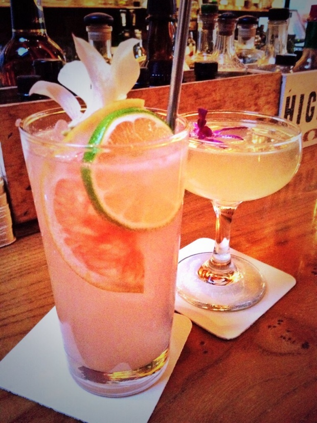 drinks at liberty bar