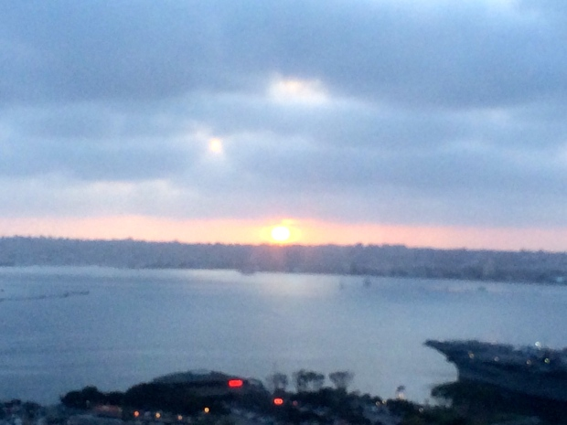 San Diego sunset - photo credit:  Evita Singh