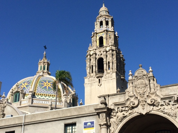 iconic tower in Balboa Park - photo credit:  Evita Singh