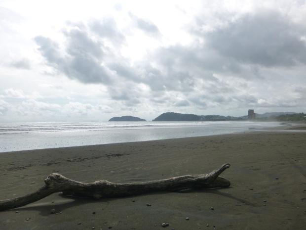 midday at jaco beach