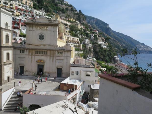 center of Positano