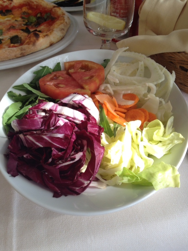 salad with fennel (loved fennel everywhere)